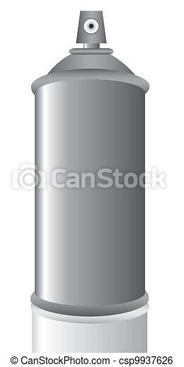 aerosol can gray - csp9937626