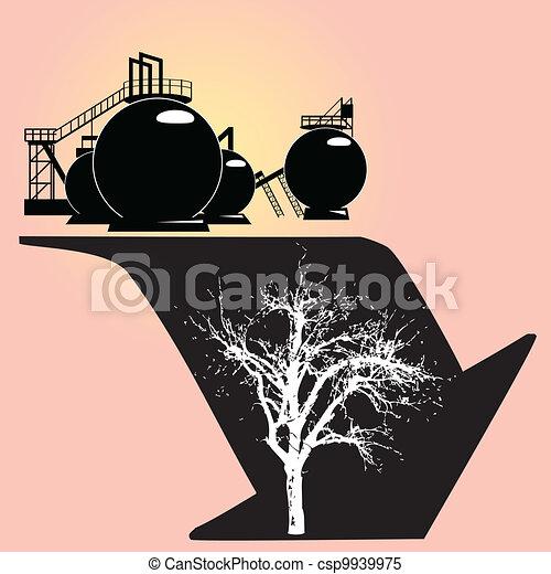 Environmental degradation - csp9939975