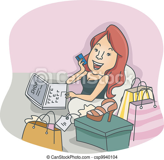 Online Shopper - csp9940104