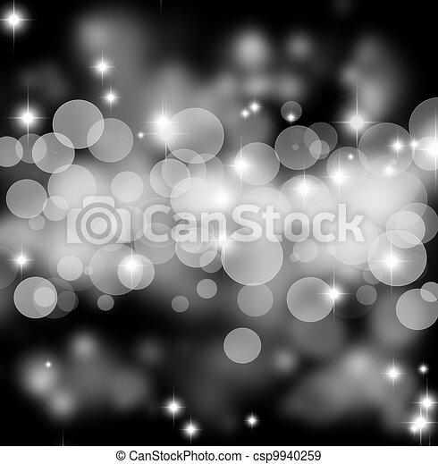 silver blurred background - csp9940259