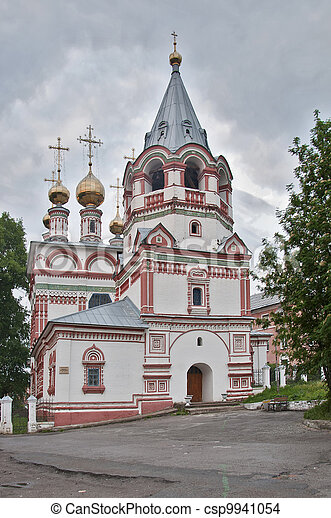 Bogoyavlenskaya Church 1688-1695 g. - csp9941054