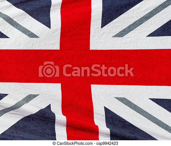 British flag beach towel - csp9942423