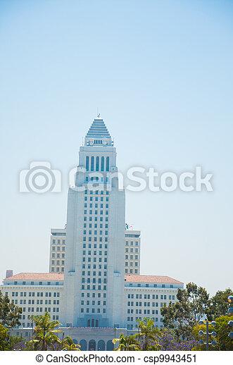 Historic Los Angeles City Hall - csp9943451