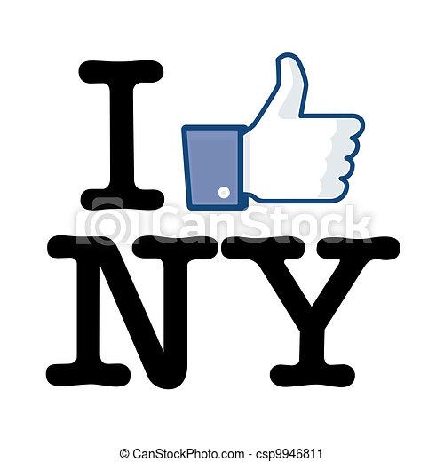I Like New York - csp9946811