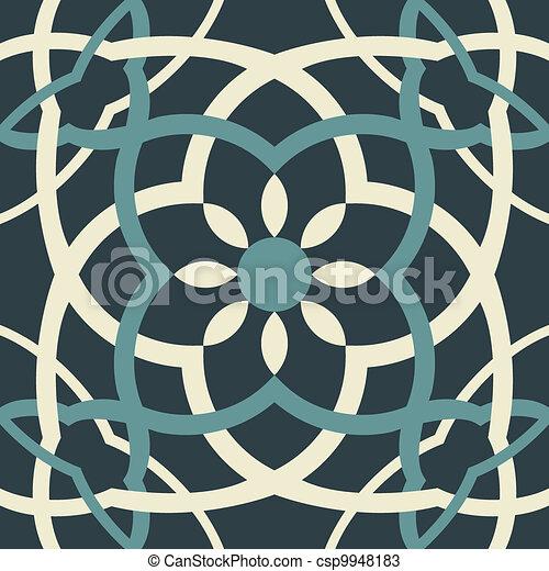 Arabesque seamless pattern - csp9948183