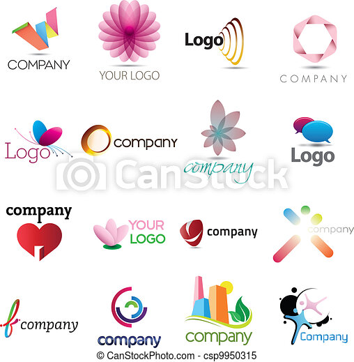 A rich logo collection - csp9950315