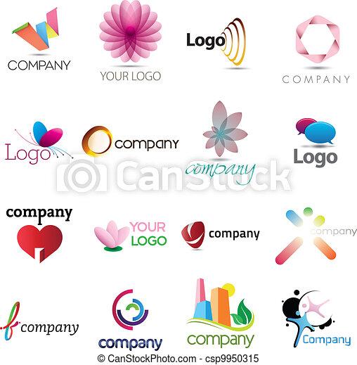 A rich logo collection - csp9950315