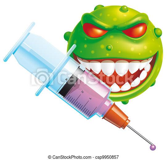 Virus vaccine - csp9950857