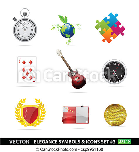 Web and creative graphic symbols set - csp9951168