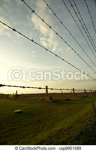 Auschwitz-Birkenau Concentration Camp - csp9951589