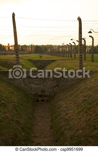 Auschwitz-Birkenau Concentration Camp - csp9951699