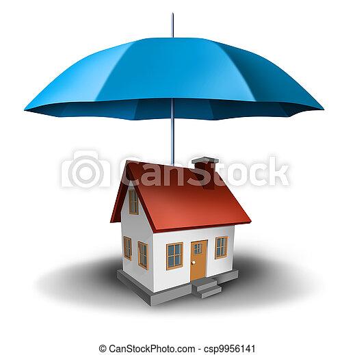 Property insurance - csp9956141