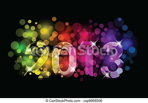 Happy New Year - 2013 - csp9956506