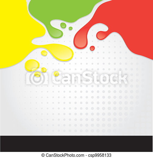 Colorful spots - csp9958133