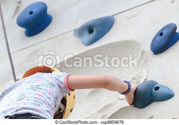 Rock Climbing - csp9959678
