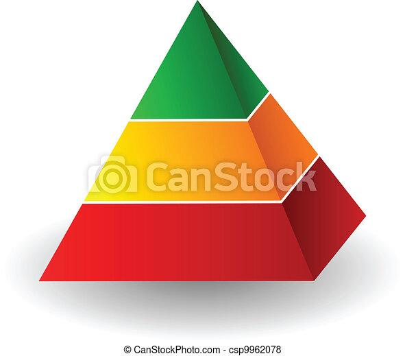 Pyramid illustration - csp9962078
