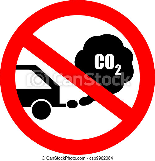 Stop the engine sign - csp9962084