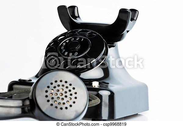 antique, old retro phone. - csp9968819