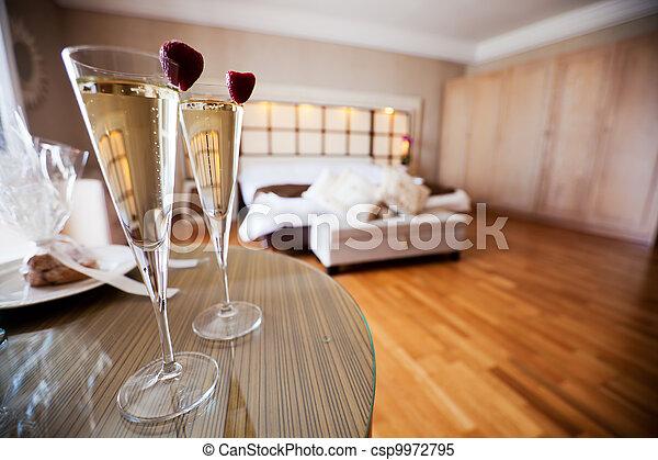Honeymoon Suite - csp9972795