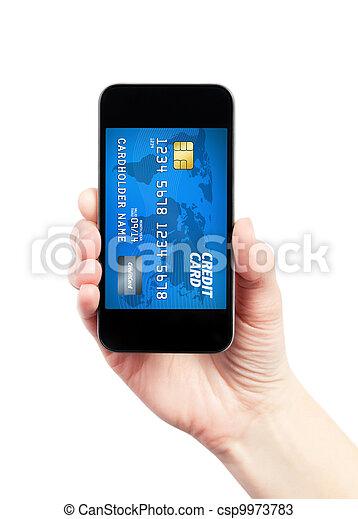Mobile payment concept - csp9973783