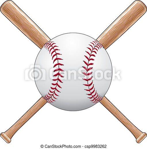 Baseball With Bats - csp9983262