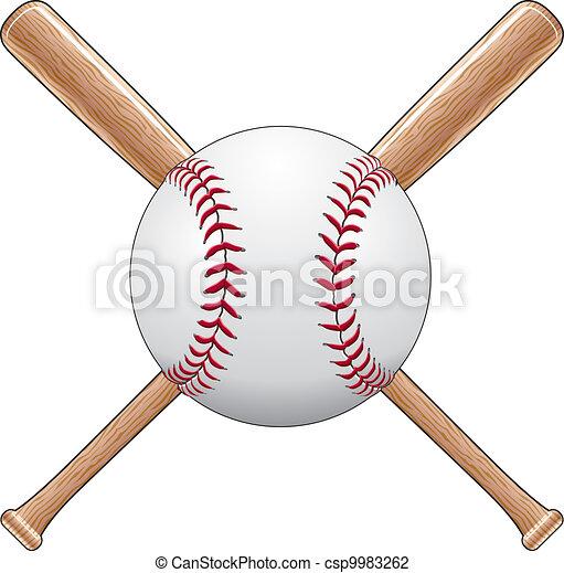 Baseball With Bats - csp9983262