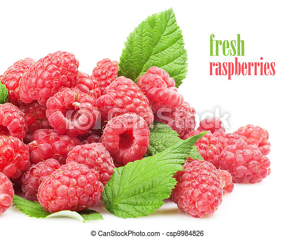 Fresh raspberry - csp9984826