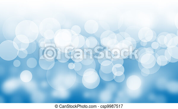 aquatic bokeh background. - csp9987517