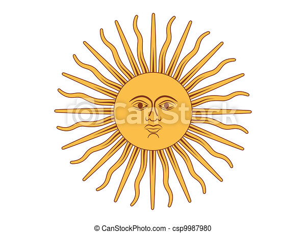 Sun of May - csp9987980