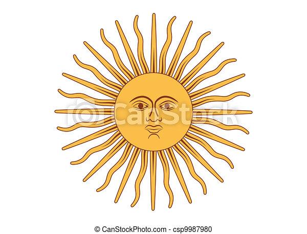 Sun of May - csp9987980