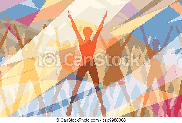 Aerobic dance - csp9988368