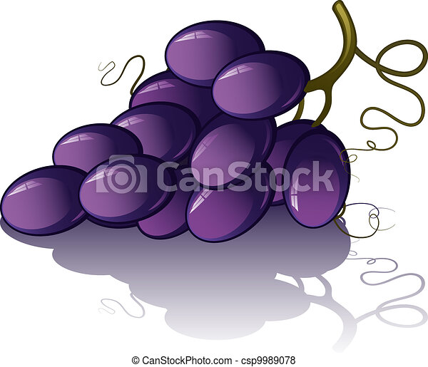 Bunch of grapes - csp9989078