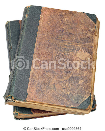 Two old books - csp9992564