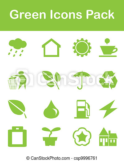 Green Icons Pack - csp9996761