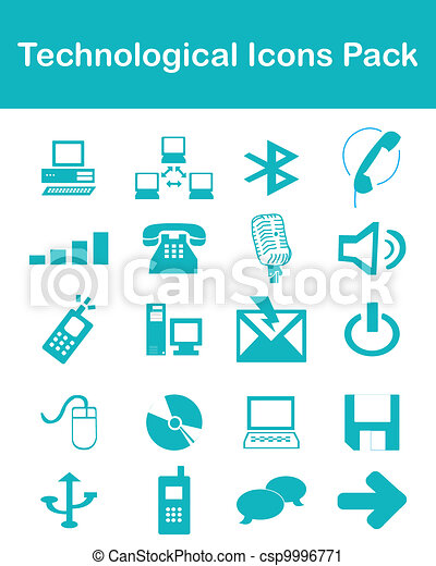 Technological Icons Pack - csp9996771