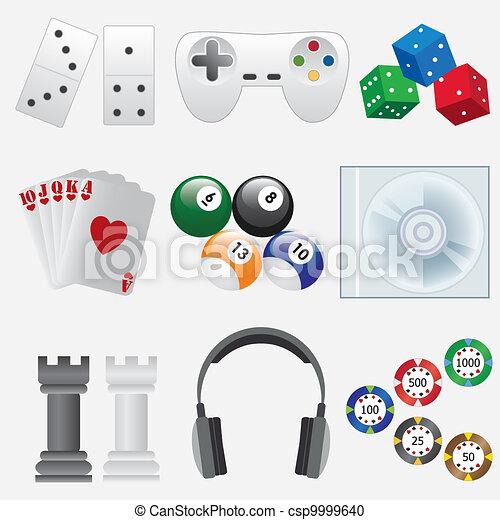 Indoor games. - csp9999640