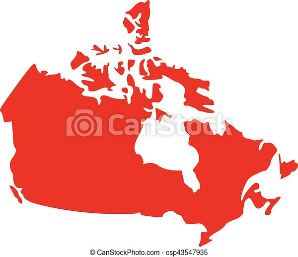 Canada map vectors Search Clip Art Illustration Drawings and EPS