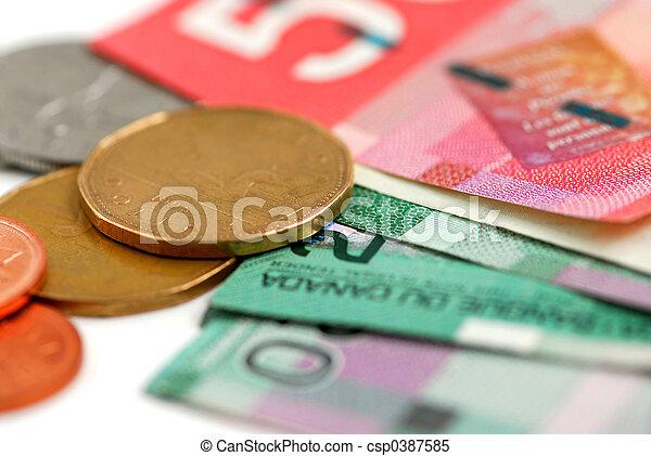 Canada money - csp0387585