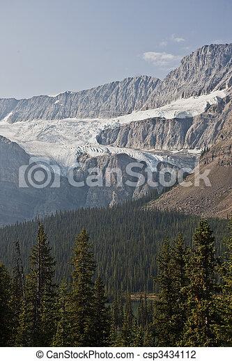 canada, -, parco nazionale, diaspro, alberta, icefield - csp3434112