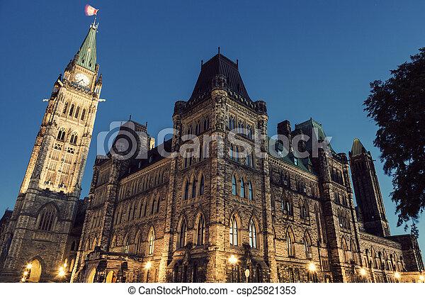 Canada Parliament Building - csp25821353