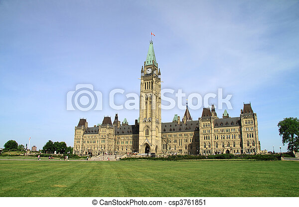 Canada Parliament Historic Building - csp3761851