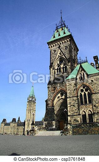 Canada Parliament Historic Building - csp3761848