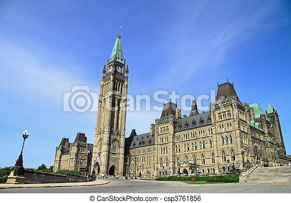 Canada Parliament Historic Building - csp3761856