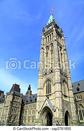 Canada Parliament Historic Building - csp3761855