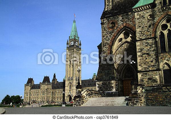 Canada Parliament Historic Building - csp3761849