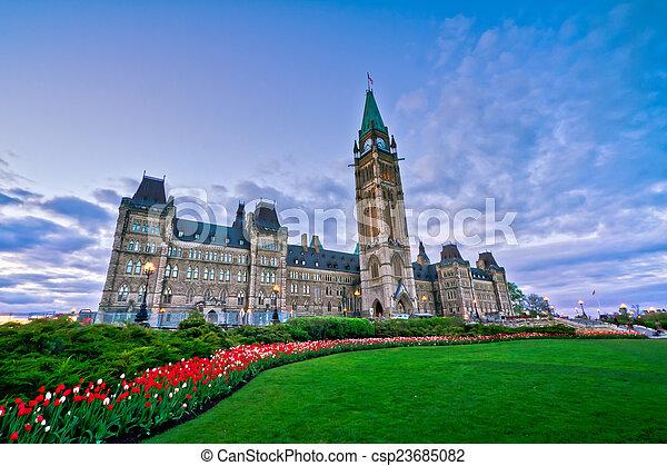 Canada Parliament - csp23685082