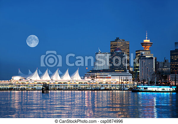 Canada Place, Vancouver - csp0874996