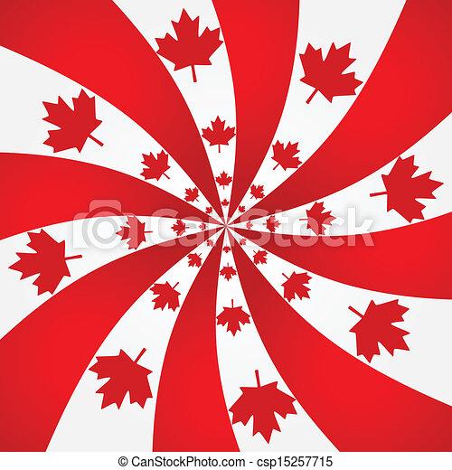 Canada spiral background - csp15257715