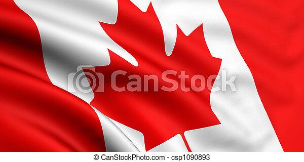 canada vlag - csp1090893
