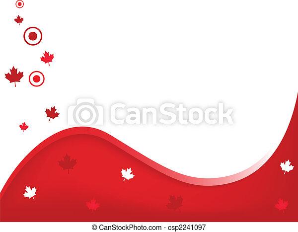 Canada Wavy Background - csp2241097